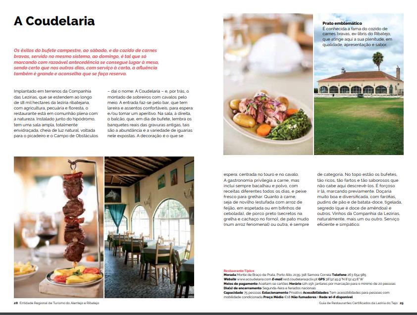 Restaurantes Benavente Certificados