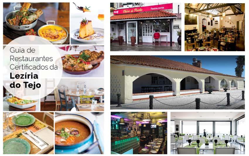 Guia de Restaurantes Certificados da Lezíria do Tejo