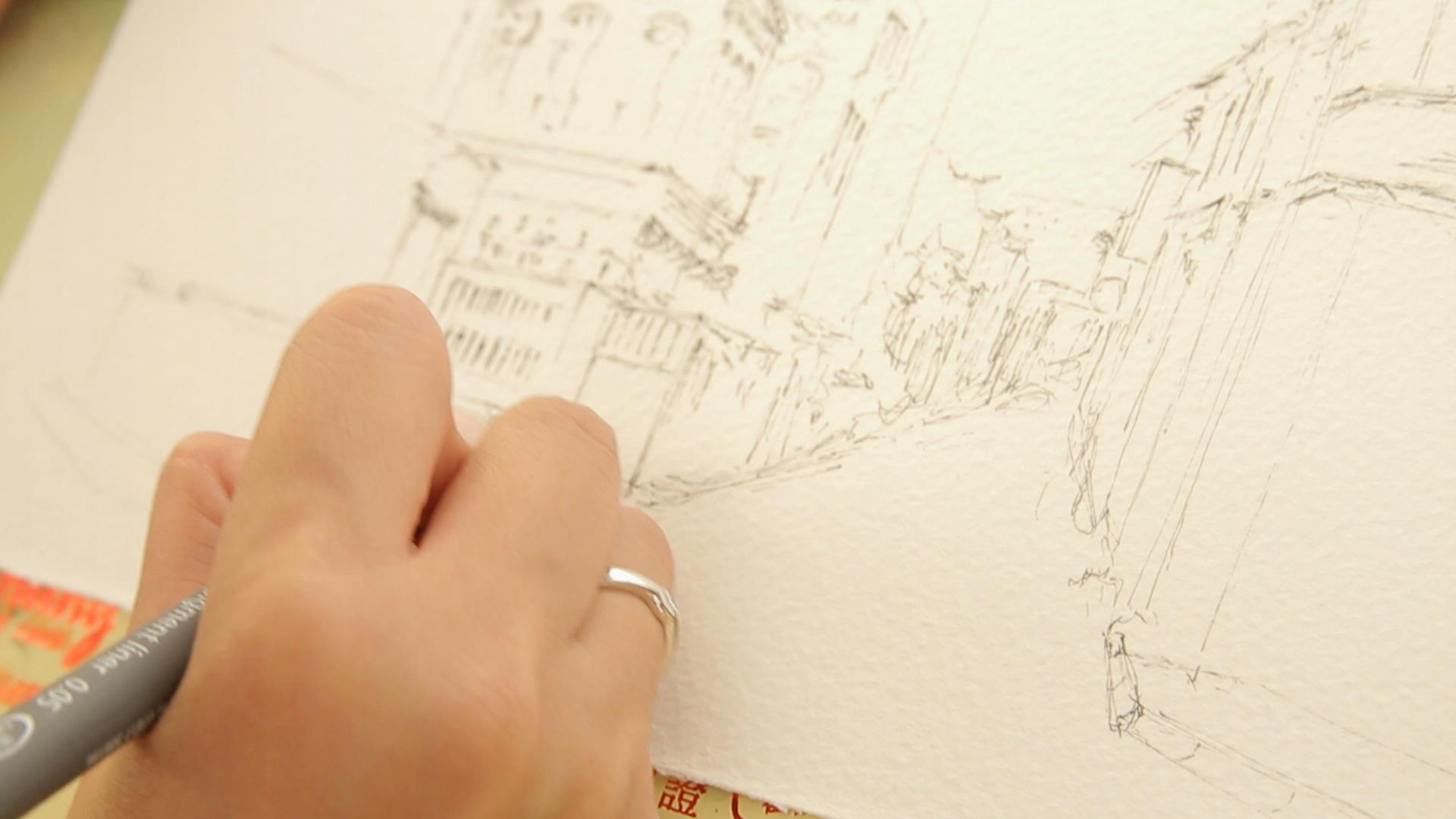 Urban Sketchers Benavente