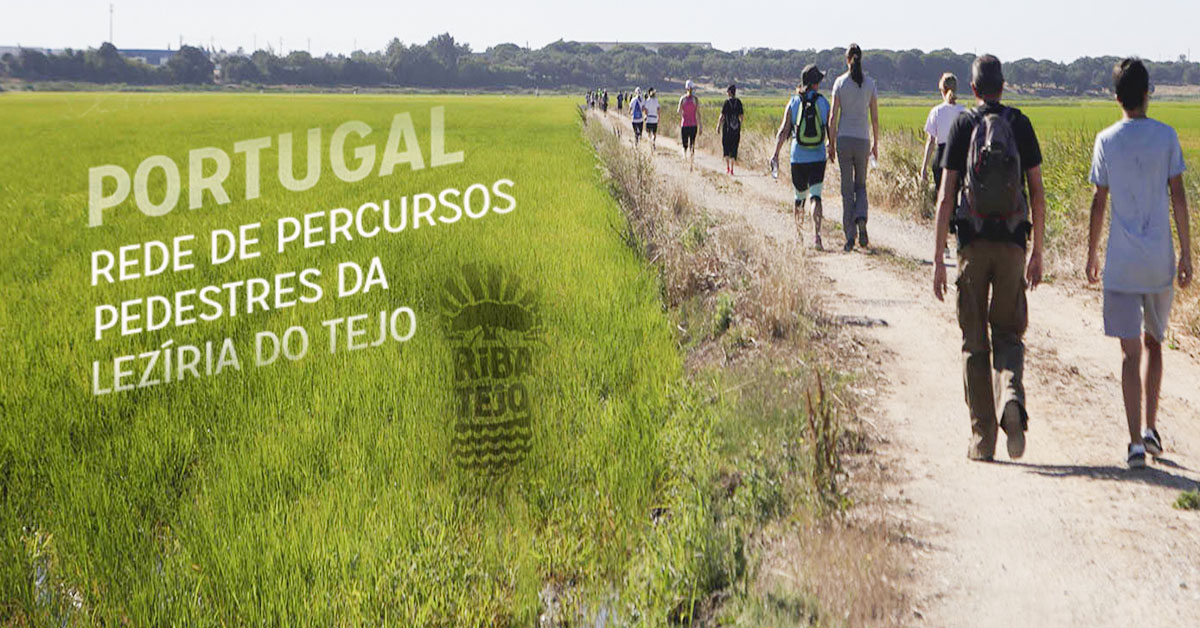 Rede de percursos pedestres da Lezíria do Tejo