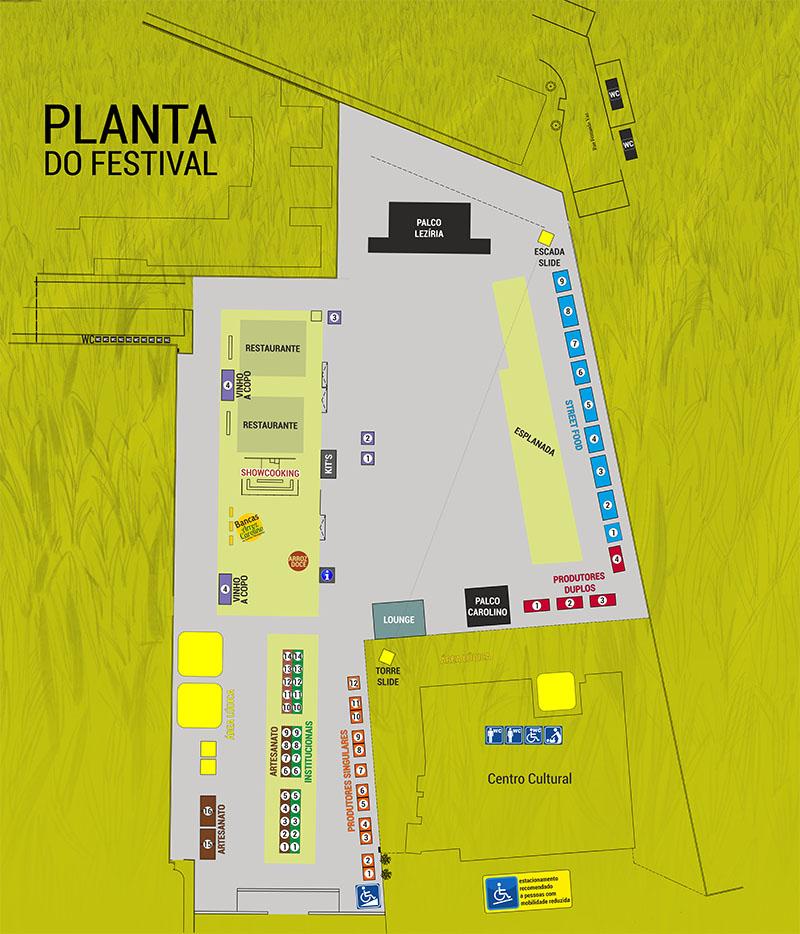 Planta Festival do Arroz Carolino