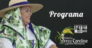 Programa Festival do Arroz Carolino
